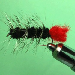 WOOLLY BUGGER BLACK