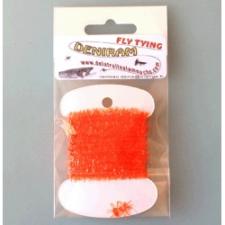 CHENILLE CHRYSTAL ORANGE LIGHT