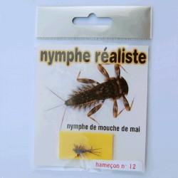 NYMPHE DE MAYFLY REALISTE