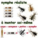 NYMPHE REALISTE A MONTER