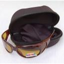 lunette polarisante ambre