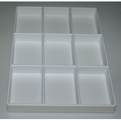 CASIER POLYSTYRENE 335 x 245 x 30 mm
